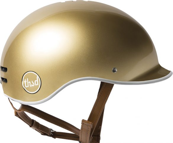 Thousand Bicycle Gold Helmet £92 BEG Bicycles, Hemingford Abbots