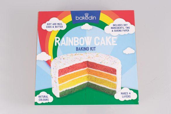 Bakedin Rainbow Cake baking kit £12.99 The Larder, Burwash Manor