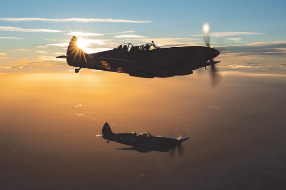 Take to the skies in a Spitfire. Visit the Aerial Collective website to find out more